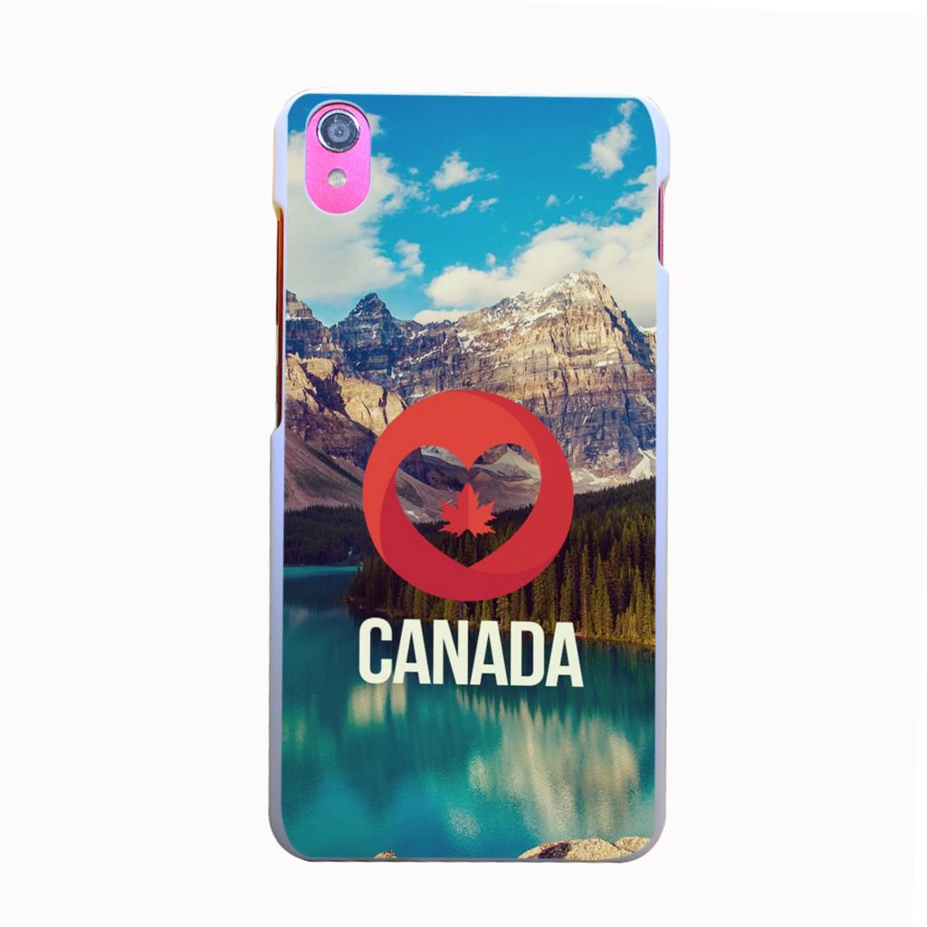 470kbq Canada Nature Style Hard Back Cover for Lenovo S850 S850T S60 W S90 A536 A328 A328T Case(China (Mainland))