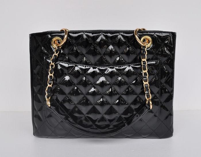 Free shipping! Fashion Imitation patent leather Leather Bag Large Shopping Tote with Gold Hardware Sholder Bag many color(China (Mainland))