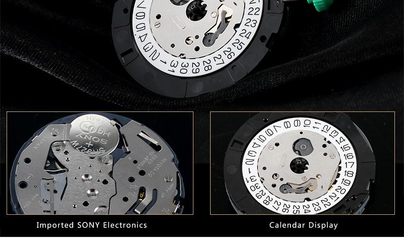 Высокое Качество Мода Хронограф мужские Часы Светящиеся многофункциональные Спортивные Часы Водонепроницаемые H4.5758G
