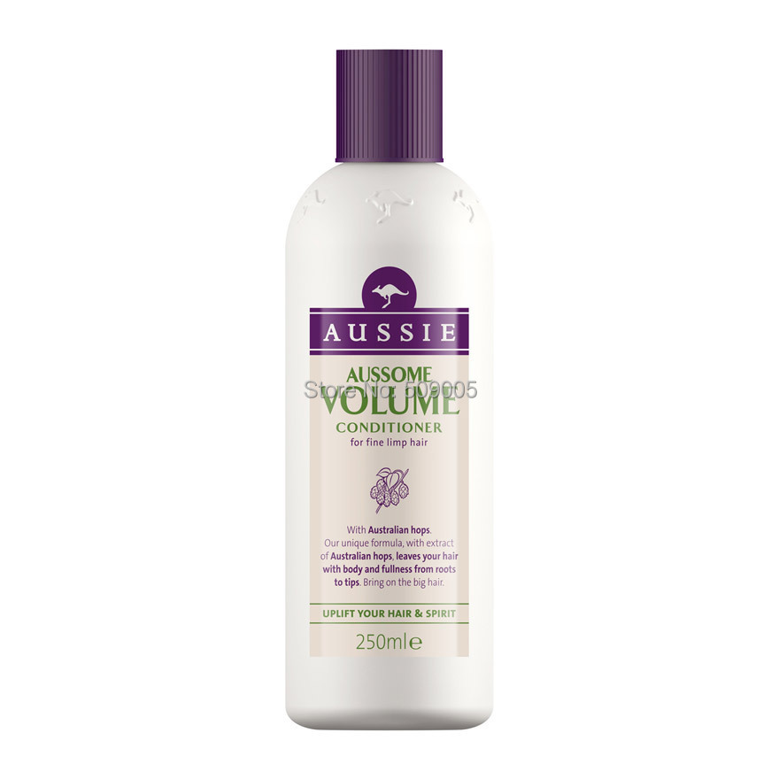 Aussie Aussome Volume Conditioner 250ml Free Shipping For Fine Limp Hair