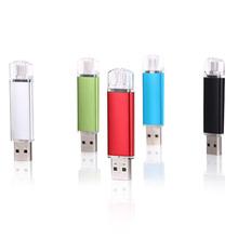 SALE OTG external storage usb flash memory 64gb 32 gb usb stick 16gb 8gb pendrive 4gb usb flash drive for Smart Phone/Tablet PC