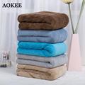 75 150cm AOKEE Brand Microfiber Bath Towel for Adults Thick Men Sport Beach Towel Bathroom Outdoor