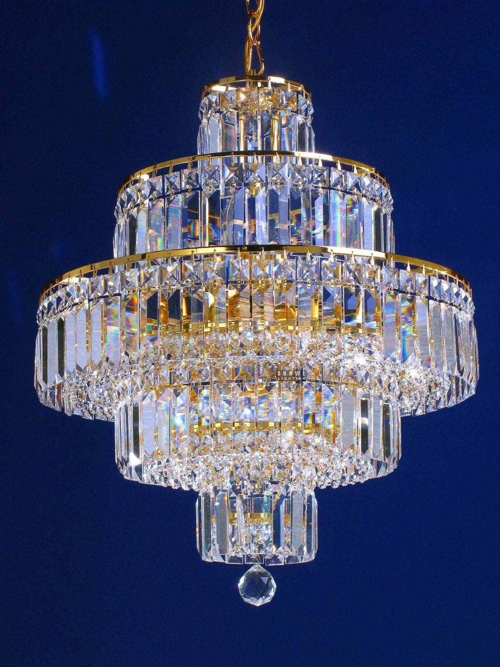 Small gold crystal chandelier light unique home chandelier lamp affordable crystal chandelier - Unique crystal chandeliers ...