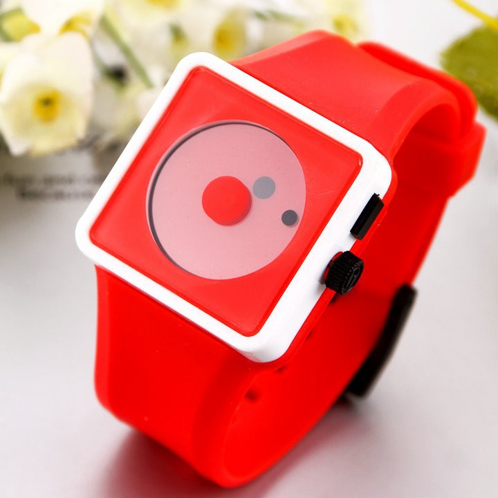 Casual Watch 2014 Sports watch Fashion women Smile Dot hours Quartz watches Unisex men Silicone Wristwatches(China (Mainland))