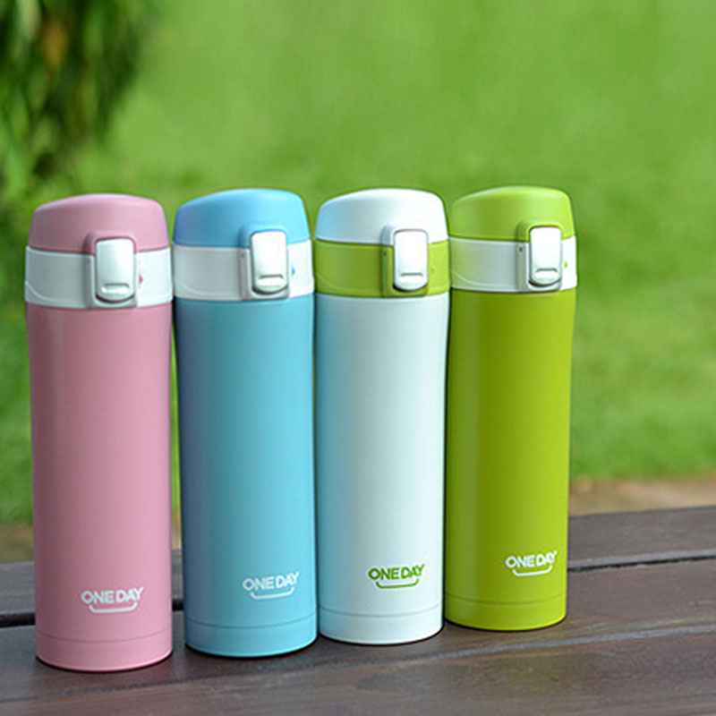 Water Bottle For Office: 420ML Thermoses For The Women In The Office Thermos Water