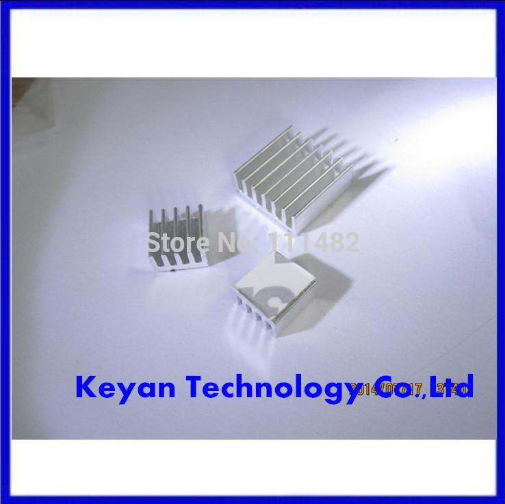 Free Shipping! 30pcs/lot Raspberry PI Pure Aluminum Heat Sink Set Kit 30pcs=Chip heat sink 14*14mm (10pcs)+ 8*8mm (20pcs)(China (Mainland))