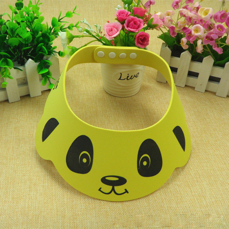 Adjustable Baby Hat Toddler Kids Shampoo Bathing Shower Cap Wash Hair Shield Direct Visor Caps For Children Baby Care LMY01127