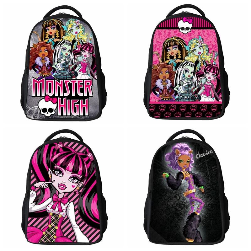 Bolsa De Ombro Monster High : Aliexpress compre sacos de escola dos desenhos
