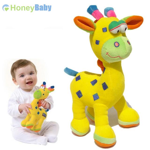 Новое поступление куклы и детские игрушки жирафы куклы ткани WJ198