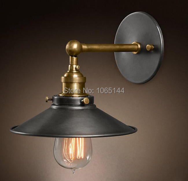 Vintage wall lamp copper lamp brief lamps bedroom bedside lamp b8024