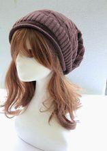 2015 hat triangular diamond lattice The Korean version winter wool bonnet Pile of pile cap sleeve