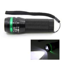 TIROL T22117d 5pcs/lot Super Bright 3W Led Flashlight Zoom Flashlight LED Torch for Camping Fishing Cycling(China (Mainland))