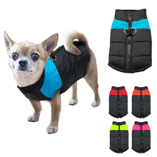 Waterproof Pet Dog Puppy Vest Jacket Clothing Warm Winter Dogs Clothes Coat For Small Medium Large Dogs(China (Mainland))