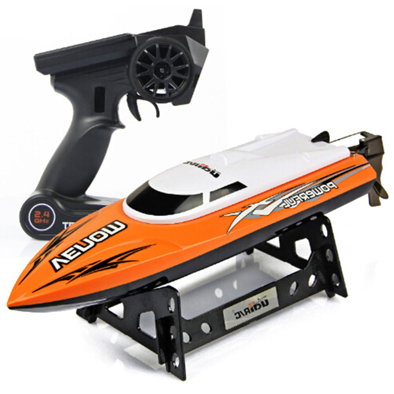 Kids Toys Super 2.4G High Speed RC Boat Electric Motorboat 4CH Model can Righting Remote Control RC Speedboat(China (Mainland))