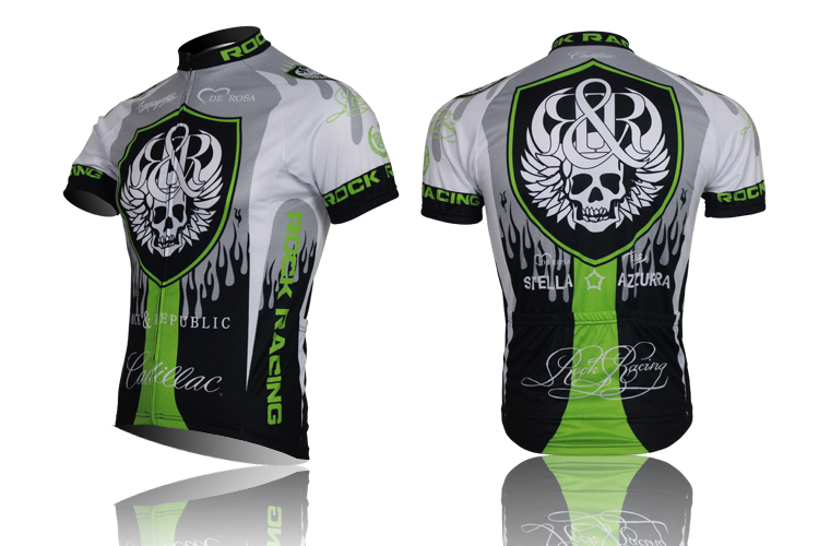 New 2015 Hot Sale High Quality Brand Skeleton Cycling Wear troy lee design Cycling Jerseys Short Sleeves/ Cycling Clothes(China (Mainland))