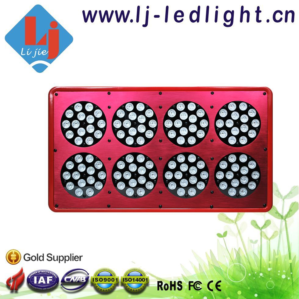 Hot Selling 2 pcs/ lot Apollo 8 LED Grow Light Full Spectrum 360W Grow LED Lamp Factory Offer(China (Mainland))