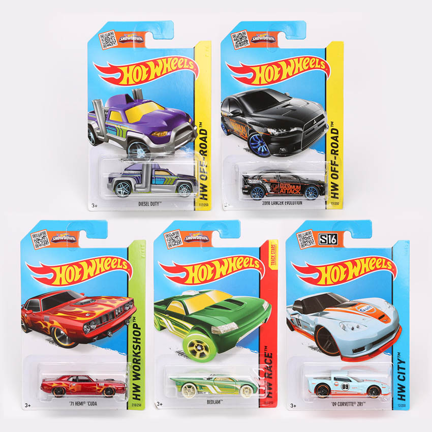 5pcs/lot Authorized Hot Wheels model Cars Hotwheels Collection Hot wheels Miniatures Scale Cars Models(China (Mainland))