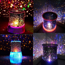 Novelty Led Night Light lamp amazing colorful sky star for home bedroom study bedside decoration lamp Cartoon children Kids(China (Mainland))