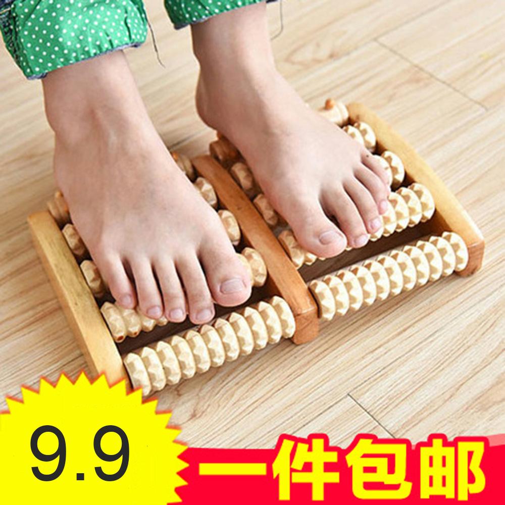 Foot massage wooden roller foot massager Acupoint stimulation massage Reflexology Improve sleep quality and blood circulation(China (Mainland))