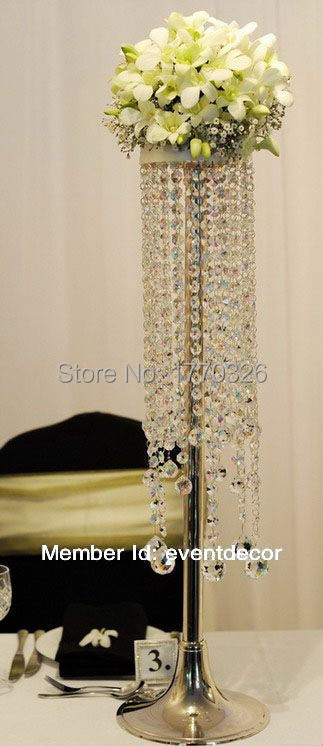 Tall Centerpiece Stand : Aliexpress buy flower stand wedding centerpieces