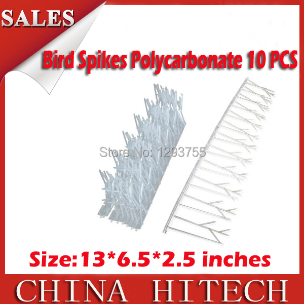 Polycarbonate Birds Bird Spikes Spike Pigeon Pest Repellent Scarecrow10' Kit New(China (Mainland))