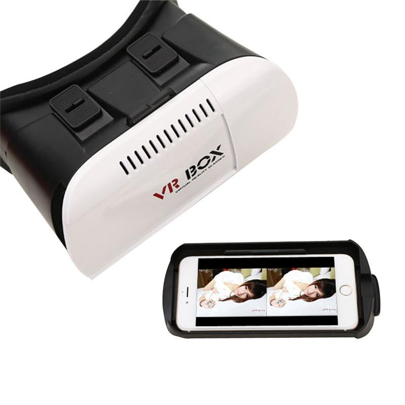 ถูก ที่มีคุณภาพสูงกระดาษแข็งVR BOX VRรุ่นความจริงเสมือนหนัง3Dเกมแว่นตาสำหรับ4.7-6.0นิ้วมาร์ทโฟน
