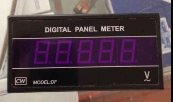 DF4 4 1/2 digital DC voltmeter DC200V range, AC110V/220V power supply 96*48*105mm<br><br>Aliexpress