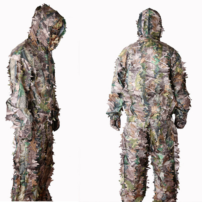 Outdoor Bionic Browning Hunting Bird Photography 3 D Woodland Camouflage Forest Camouflage Geely Disguise Jacket and Pants SuitsОдежда и ак�е��уары<br><br><br>Aliexpress