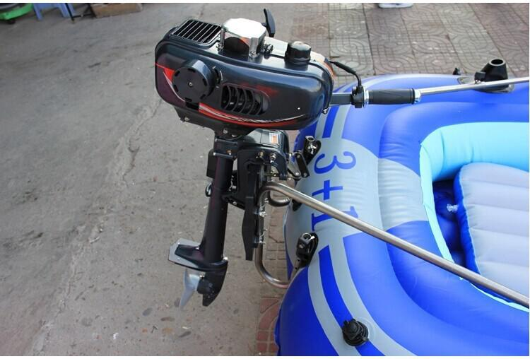 Free Shippiing by DHL and Fedex fast shipment outboard motor low price 2 stroke inflatable boat outboard engine(China (Mainland))