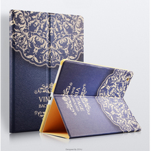 Fashion Designs For Apple Ipad 2 Case Luxury Smart Case For Ipad 3 4 Leather Flip Case Stand Good Quality Unique Special Style(Hong Kong)