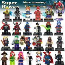 Latest Minifigures For Individually Sale Marvel DC Super Heroes Avengers Batman Single Building Blocks Set Model Toys(China (Mainland))