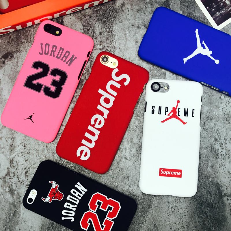 Hot Supreme chicago bulls Jordan 23 sports Matte hard plastic protection case for iphone 7 7plus 5 5s se 6 6s plus Coque cover(China (Mainland))
