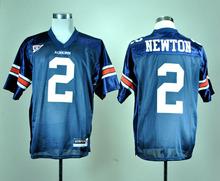 Best quality Auburn Tigers 2 Cam Newton 34 Bo Jackson College Football Jersey Embroidery Logo(China (Mainland))