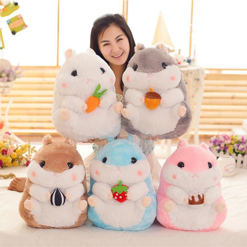 Linda lanche hamster de pelúcia bonecas, hamster de pelúcia brinquedos simulação, cobaia grande brinquedos de pelúcia, crianças/meninas do presente do feriado!(China (Mainland))