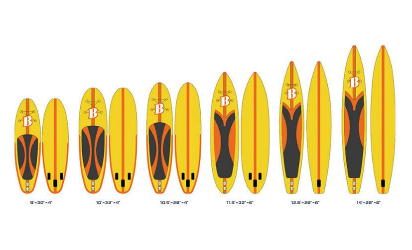Inflatable Surf Board Paddle Board in Multiple Sizes(China (Mainland))