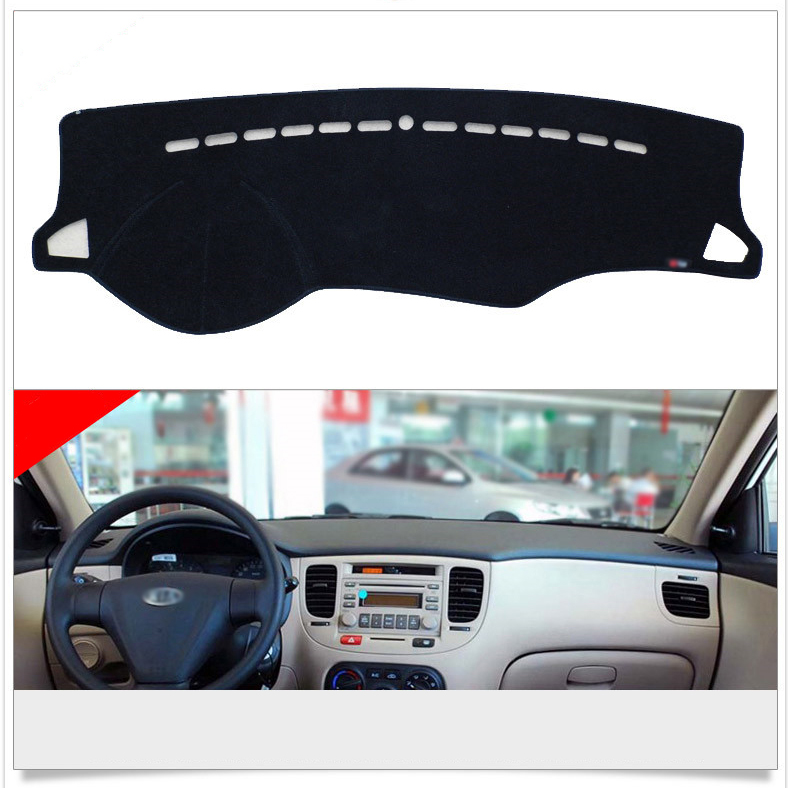 Interior Dashboard Carpet Photophobism Protective Pad Mat For Kia Rio<br><br>Aliexpress