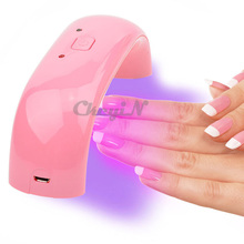 New Arrival 9W LED UV Nail Dryer LED Lamp for Nails Ultraviolet UV Lamp Dryer for Gel Nail Drying Polishing Manicure -P5861(China (Mainland))