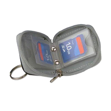 Carrying Case Wallet Bag Holder Cover Protective For 6 Memory Card XD SD MS Card ES88