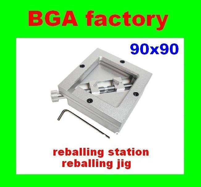 BGA Reballing Station 90 X 90MM Reball Station HONTON HT-90 use for 90mm stencils,BGA JIG,bga tool for repair(China (Mainland))