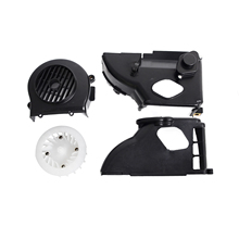 Complete Air Cooling Shroud Assembly with fan for GY6 50cc ATV Go Kart Buggy's & Scooter