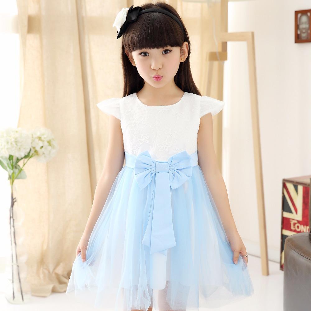 Платье для девочек NO 2015 vestido 100/140 JQD051