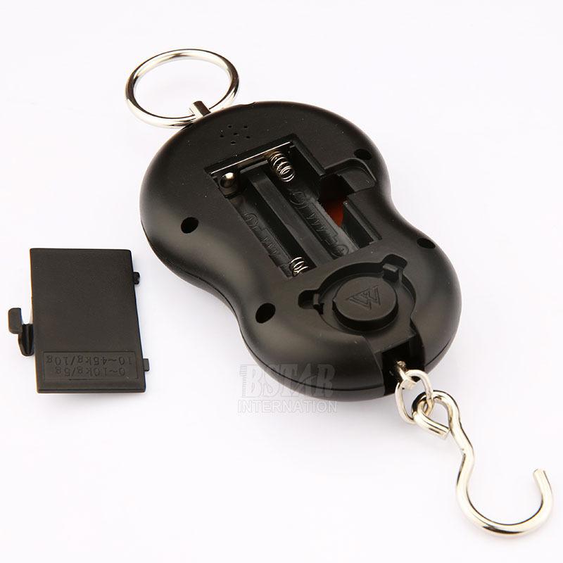 Pocket Portable Digital 50kg 10g Luggage Hanging Fishing Fish Hook Scale digital scales Electronic Balance lb