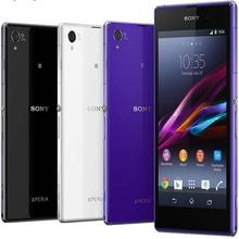 Original Unlocked Sony Xperia Z1 L39H C6903 White Black Purple GSM 20.7MP 5.0 Inch Quad Core 16GB Cell Phones(China (Mainland))