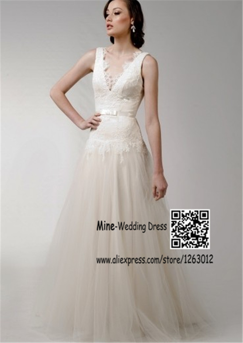 Robes de mariage blanc pour Courthouse