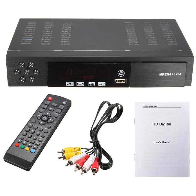 New EU/UK Full HD 1080P T2+S2 Video Broadcasting Satellite Receiver Box TV HDTV(China (Mainland))