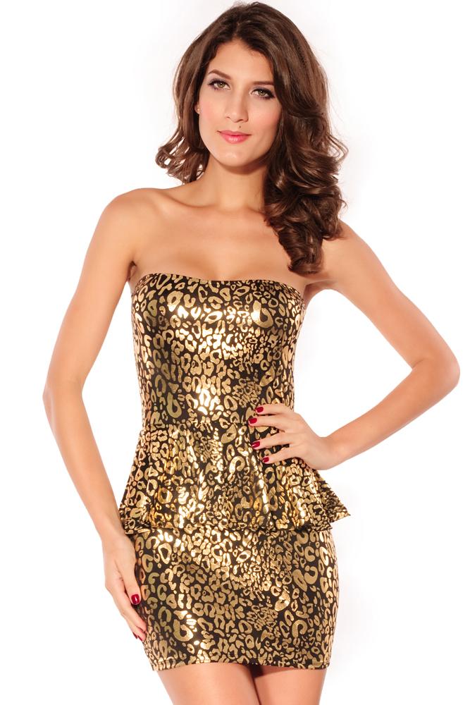 Купить Золотое Платье В Москве