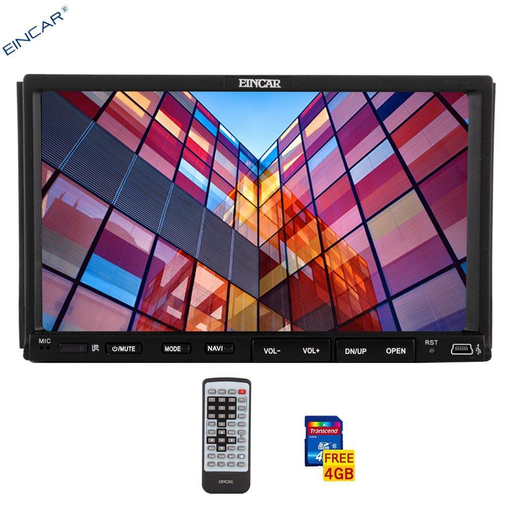 Fast 7-inch CPU Car Stereo DVD Player Radio GPS video Headuni Bluetooth Multi-OS Language +4GB map card+night view REAR CAMERA(China (Mainland))