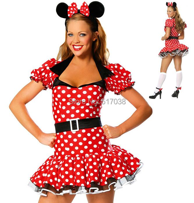 Compra Disfraces de Halloween sexy del ratón online al por mayor ...