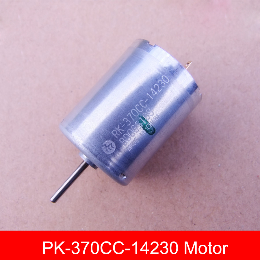 Original Assembled Bearing 370 Carbon Brush Motor Large Torque 6 30V DC Motor RK 370CC 14230