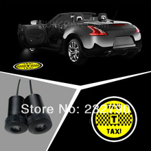 Buy 2pcs Welcome Open Door Courtesy Light Ghost Shadow Laser Projector Lamp Logo Auto LED Emblem TAXI Logo 3215 for $22.78 in AliExpress store